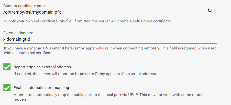 Creating a letsencrypt SSL certificate for Emby - Tutorials and ...