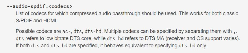 no audio when playing dts-hd via emby theater - Emby Theater - Emby