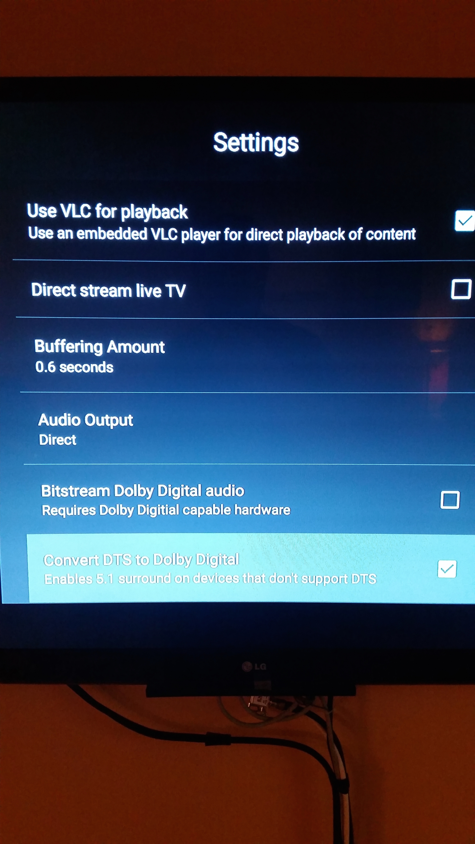 Some MKV files no longer play on FireTV after update