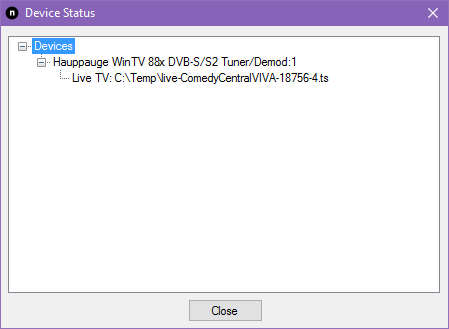Tuner doesn't stop streaming if using upnp - NextPVR - Emby