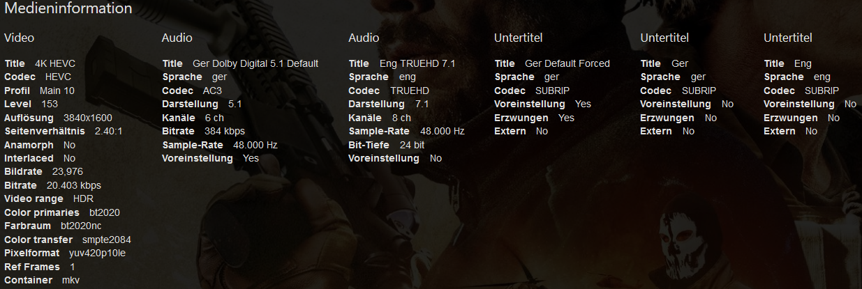 Cannot play files with subtitles without transcoding