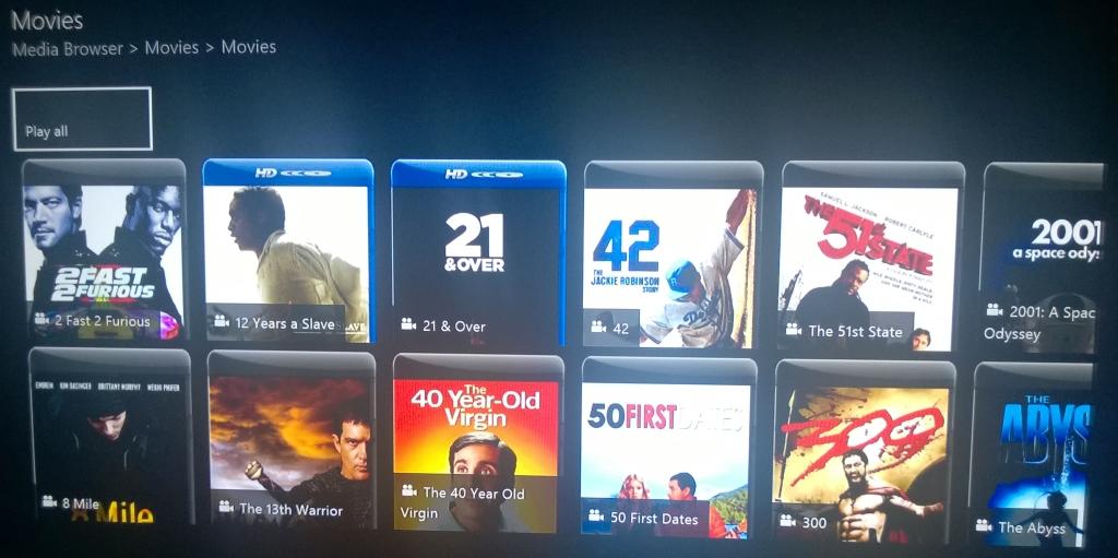 Xbox Media Player