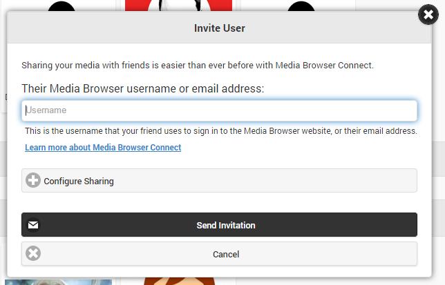 emby how to start mediabrowser default server