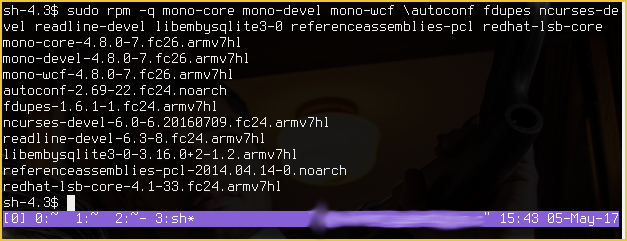 emby-server-3 2 12-28 1 armv7hl rpm + dependencies (Built for use on
