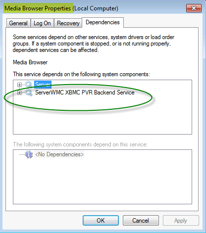 ServerWMC Not Connected - Page 3 - General/Windows - Emby
