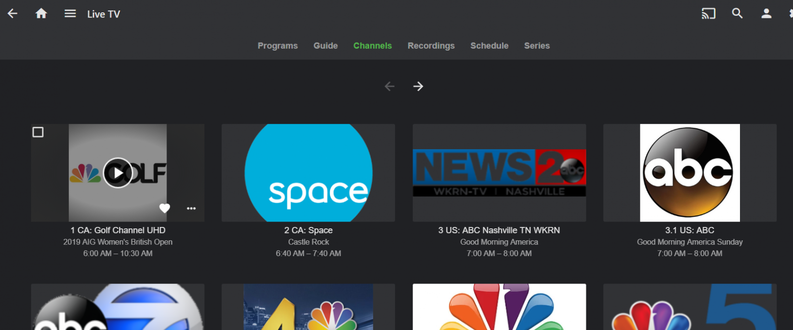 Live TV Setup on Linux Server - Linux - Emby Community