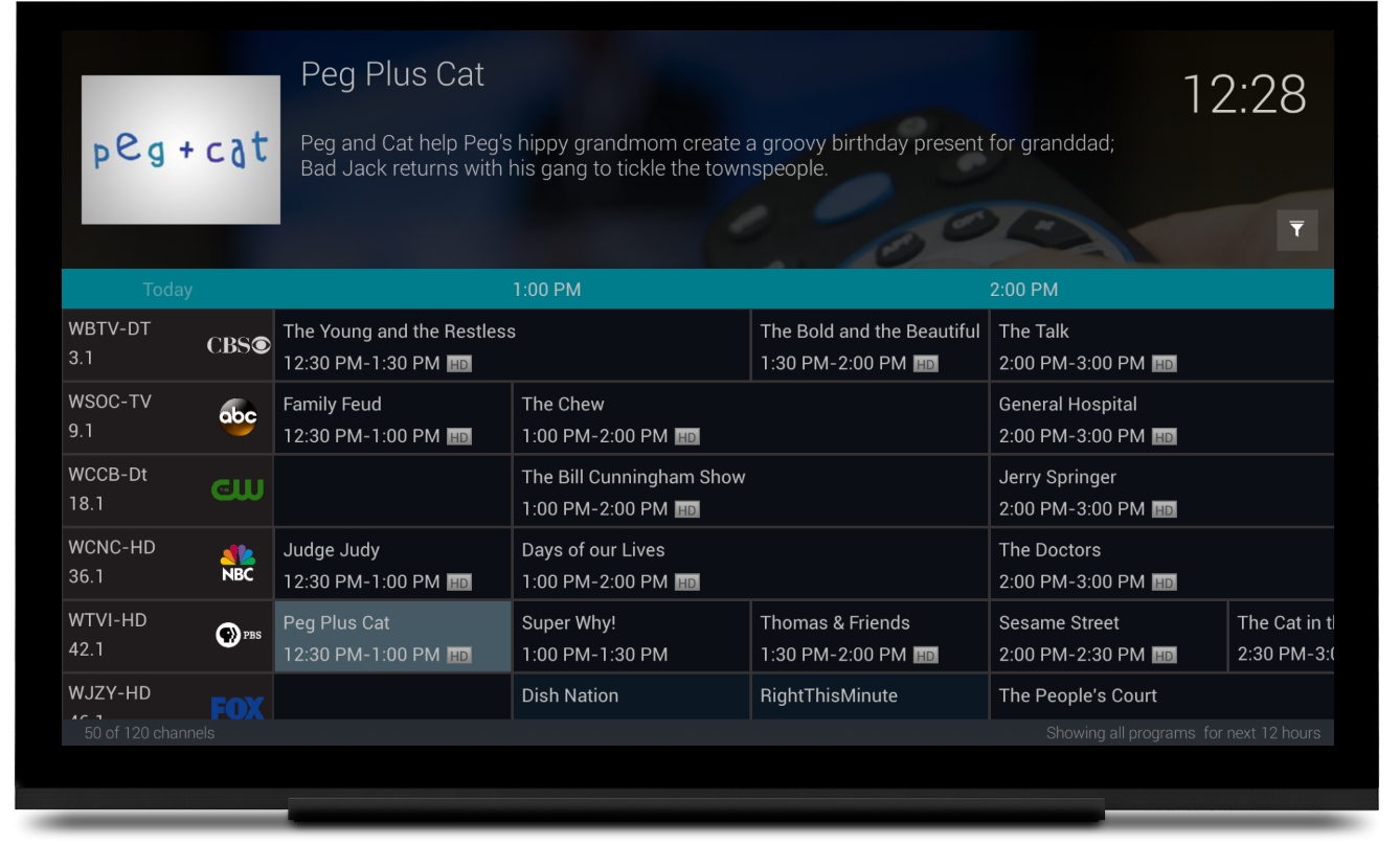 Atv Fire Tv App Gets Live Tv Guide And Other Interface