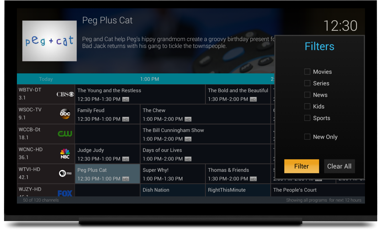 ATV/Fire TV App gets Live TV Guide and other interface improvements