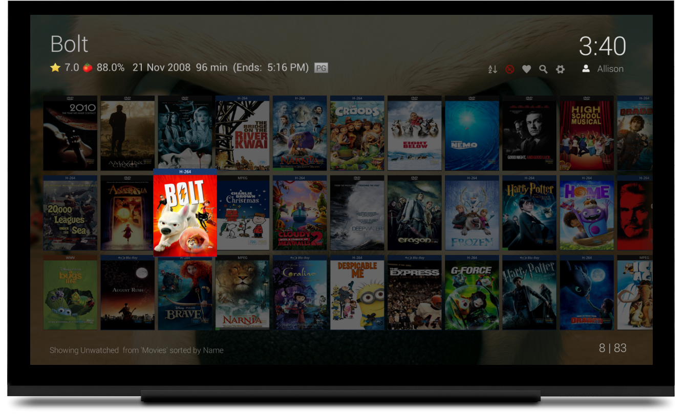 New ATV/FTV Grid View Beta - Android - Emby Community