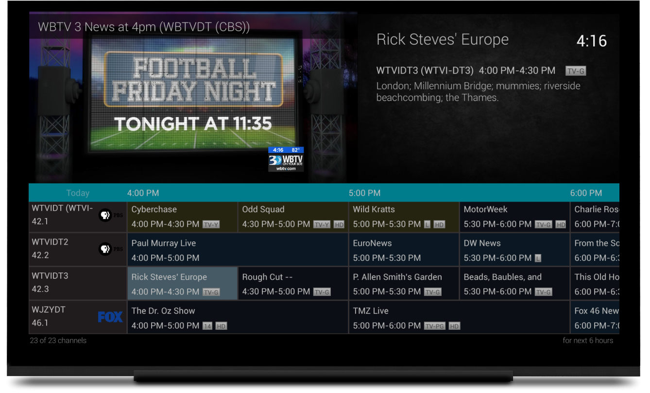 More improvements for the Android TV and Fire TV app