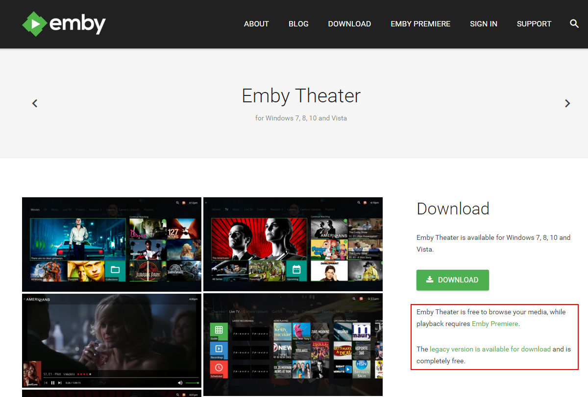 New Emby Theater - Emby Theater - Emby Community