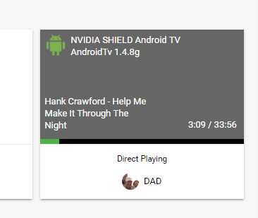 Shield TV 2017 playing Hi-Res FLAC - Android TV / Fire TV - Emby