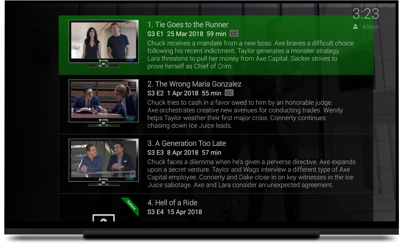 Android TV Updated with common home screen layout and