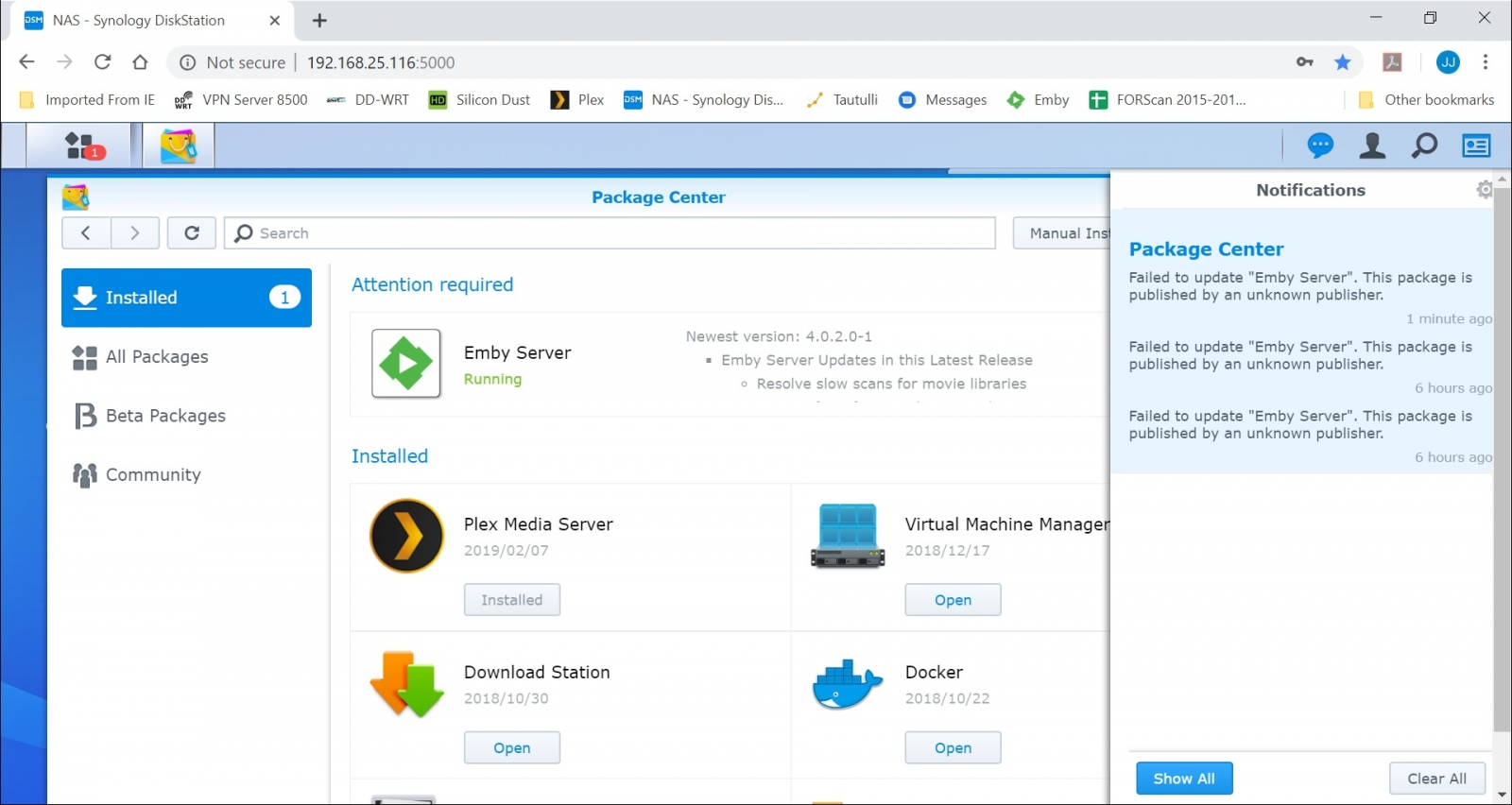 Stable 4 0 2 0 - Now Available for All Supported Synology
