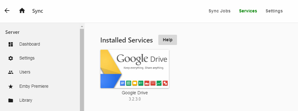 Google Drive Sync Not Showing Sync Jobs After Update to 4 0