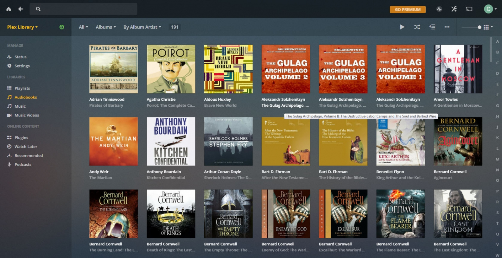 Audio Book feature request or tweak suggestion - Emby Server - Emby