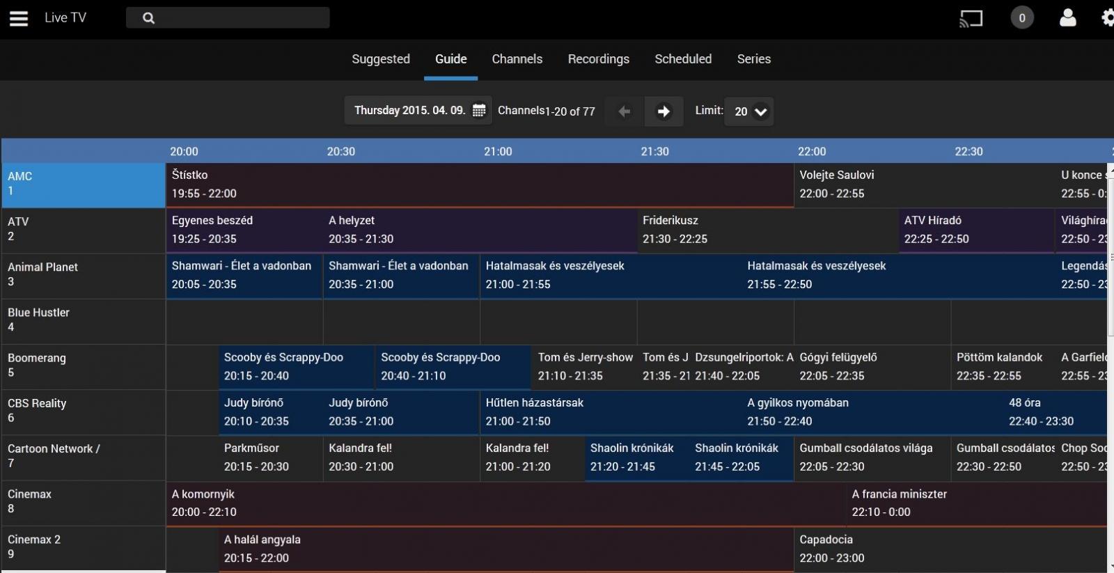 Tvheadend plugin for Emby - Beta 1 - Live TV - Emby Community