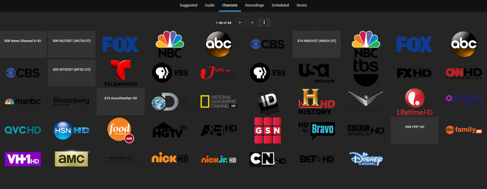 Dev] EmbyTV a livetv client for Network Tuners (HDHomerun at