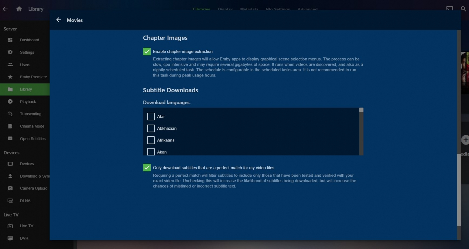 Transcoding Question From New User - Synology - Emby Community