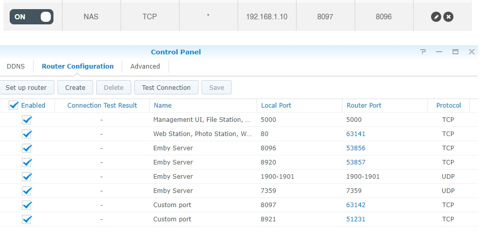 Remote access - Synology - Emby Community