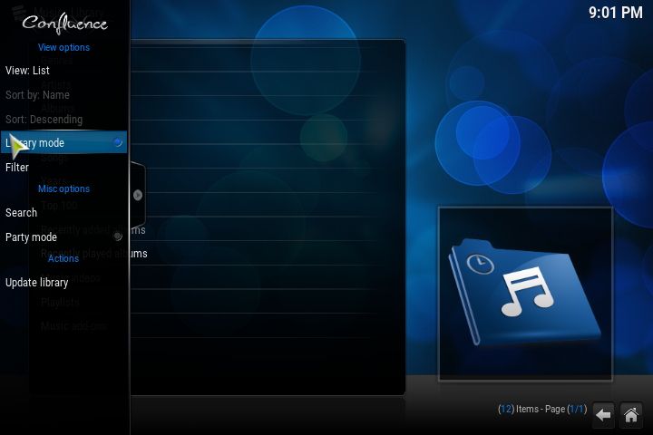 kodi how to add library upnp