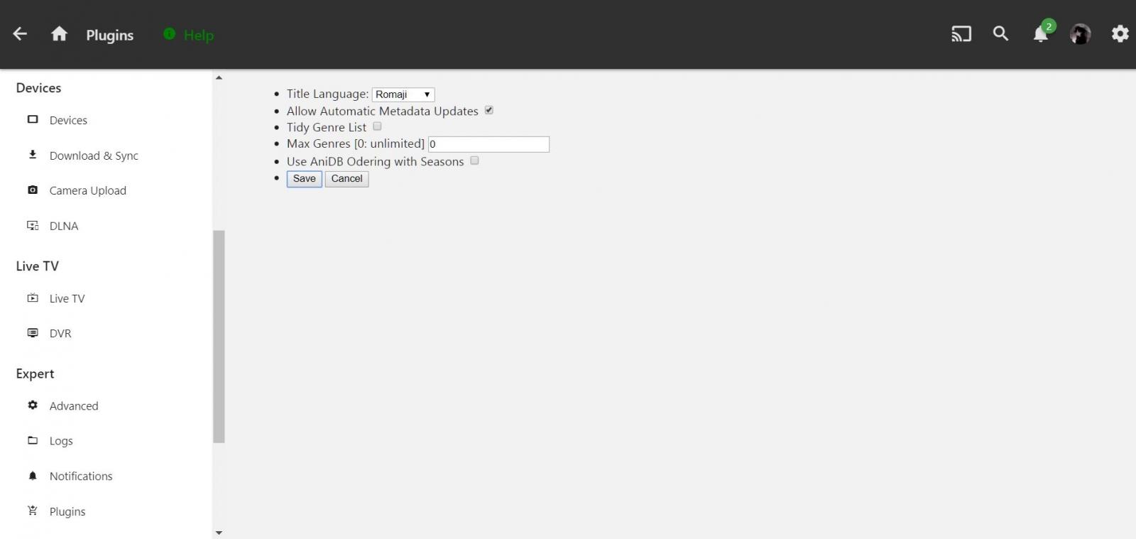 Anime Plugin anidb no metadata on episodes - Plugins - Emby Community