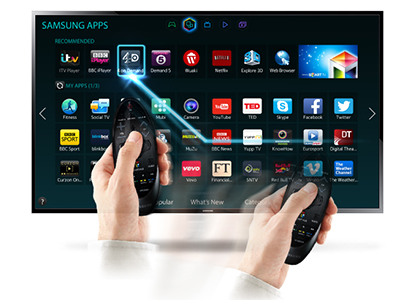 How do i install apps on samsung smart tv