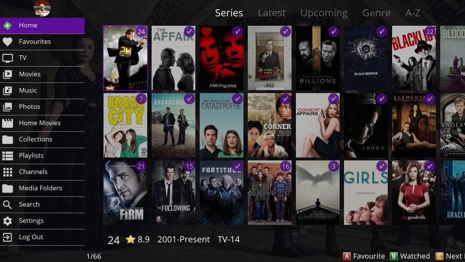 Orsay] Samsung Smart TV (2011 - 2014) App - Screenshots - Samsung