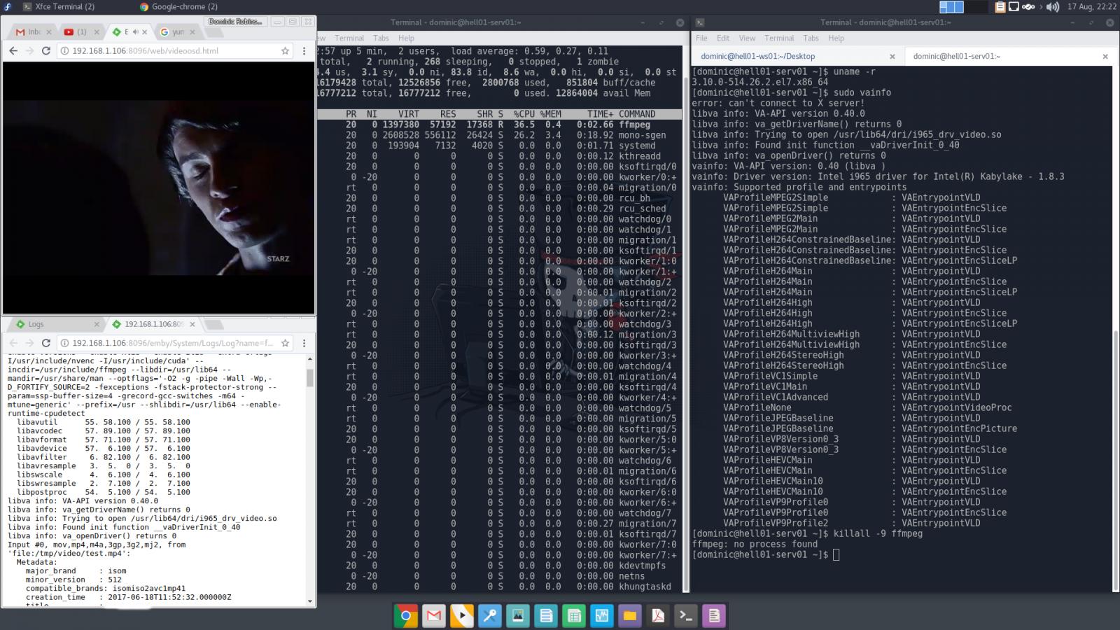 CentOS VAAPI - Page 2 - Linux - Emby Community