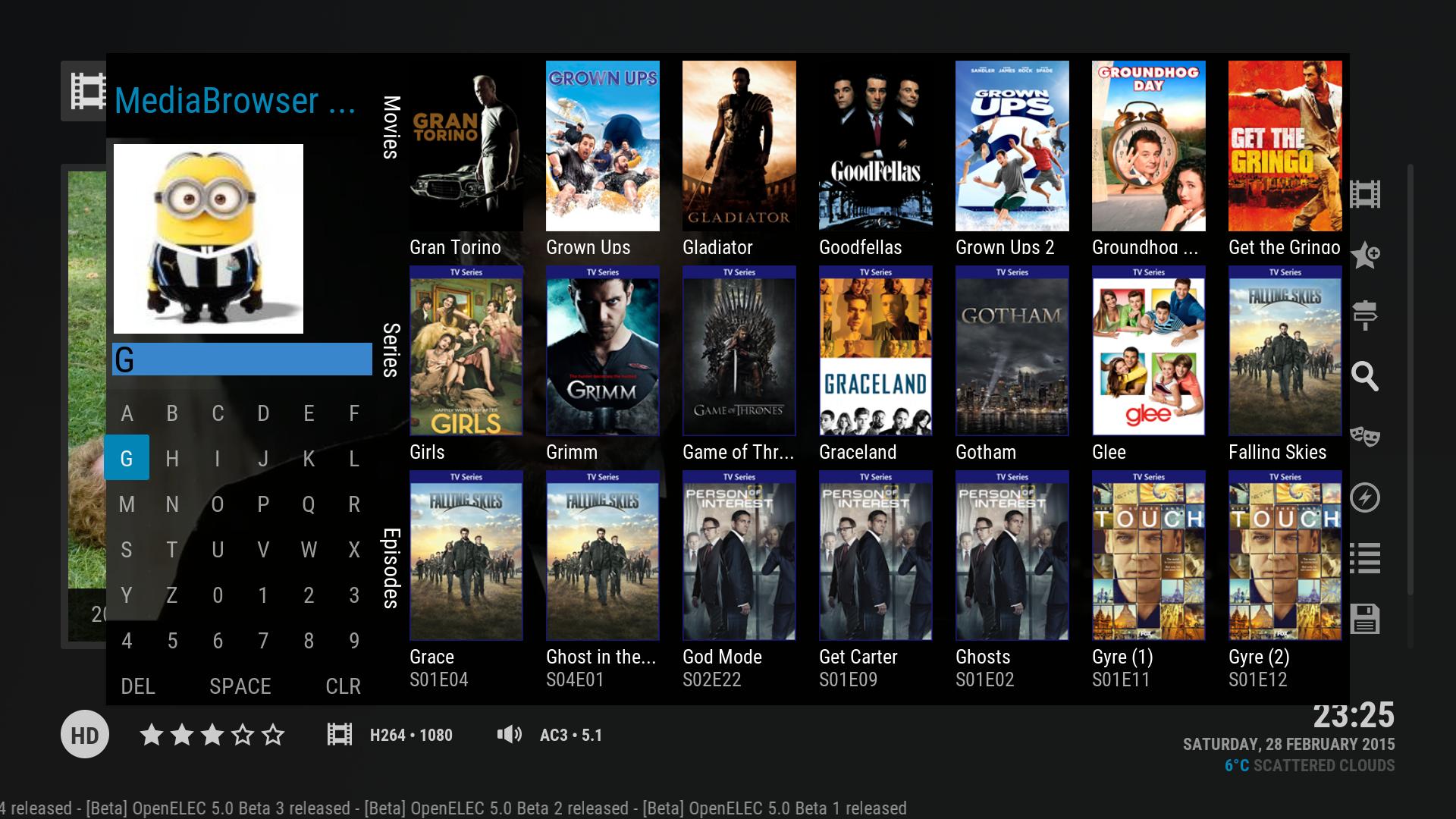 Full Movies List