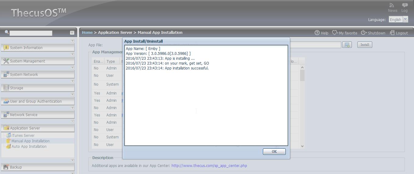 Emby Server for NAS - Emby